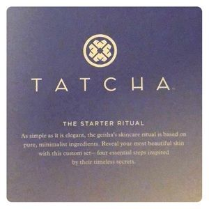 Tatcha: The Starter Ritual & 3 samples.